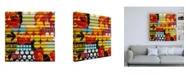 "Trademark Global Philippe Hugonnard Made in Spain 3 Colorful Blind Art Canvas Art - 15.5"" x 21"""