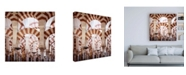 """Trademark Global Philippe Hugonnard Made in Spain 3 Columns Mosque Cathedral of Cordoba Canvas Art - 15.5"""" x 21"""""""