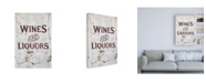 """Trademark Global Philippe Hugonnard Made in Spain Wines and Liquors Sign Canvas Art - 36.5"""" x 48"""""""