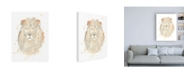"Trademark Global June Erica Vess Blush Savannah III Canvas Art - 19.5"" x 26"""