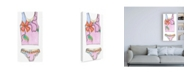 """Trademark Global Jennifer Goldberger Fun Wear III Childrens Art Canvas Art - 19.5"""" x 26"""""""
