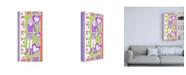 "Trademark Global Chariklia Zarris Glam Girls III Childrens Art Canvas Art - 36.5"" x 48"""