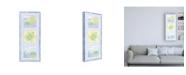 "Trademark Global Megan Meagher Turtle Trio Childrens Art Canvas Art - 19.5"" x 26"""