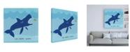 "Trademark Global June Erica Vess Jawesome II Canvas Art - 15.5"" x 21"""