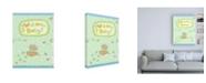 """Trademark Global Viv Eisner Baby Owl I Canvas Art - 36.5"""" x 48"""""""
