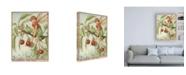 "Trademark Global Vision Studio The Cherry Tree Fairy Canvas Art - 27"" x 33.5"""