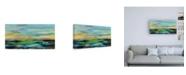 "Trademark Global Silvia Vassileva Delmar Sunset I Canvas Art - 36.5"" x 48"""