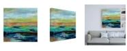 "Trademark Global Silvia Vassileva Delmar Sunset III Canvas Art - 36.5"" x 48"""