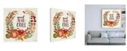 "Trademark Global Janelle Penner Spread the Love V Canvas Art - 19.5"" x 26"""