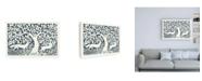 "Trademark Global Miranda Thomas Forest Life III Canvas Art - 36.5"" x 48"""