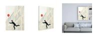 "Trademark Global Julia Purinton Aloft in Paris III Canvas Art - 19.5"" x 26"""