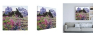 "Trademark Global Marcia Burt Spring Haze, Eucalyptus on the Ridge Canvas Art - 19.5"" x 26"""