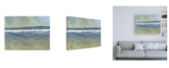 "Trademark Global Paul Baile Estuary Wave Canvas Art - 15.5"" x 21"""