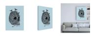 "Trademark Global Rachel Caldwel Skull Nest Binds Canvas Art - 19.5"" x 26"""