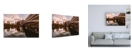 "Trademark Global Bruce Gett The Bow Bridge Canvas Art - 19.5"" x 26"""