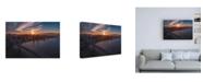 "Trademark Global Bruce Gett Sunset Explosion Canvas Art - 36.5"" x 48"""