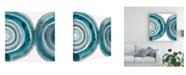 "Trademark Global Chariklia Zarris Freshwater Tide VII Canvas Art - 15"" x 20"""