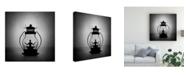 "Trademark Global Victoria Ivanova The Inner Light Meditation Canvas Art - 20"" x 25"""