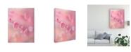 """Trademark Global Miyako Koumura Gentle Cherry Blossom Canvas Art - 15"""" x 20"""""""