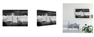 "Trademark Global Piera Polo I Need the Sea Rolling Coastline Canvas Art - 20"" x 25"""