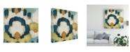 """Trademark Global June Erica Vess Cascade I Canvas Art - 15"""" x 20"""""""