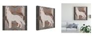 "Trademark Global Vision Studio Southwest Lodge Silhouette II Canvas Art - 27"" x 33"""