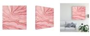 "Trademark Global Megan Meagher Pastel Agate III Canvas Art - 15"" x 20"""