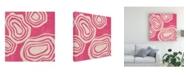 "Trademark Global June Erica Vess Bright Mineral II Canvas Art - 15"" x 20"""
