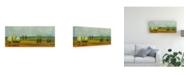 "Trademark Global Pablo Esteban Green Tuscan Paint Landscape 1 Canvas Art - 19.5"" x 26"""