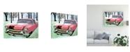 "Trademark Global Patrick Sullivan 57 Cadi Canvas Art - 15.5"" x 21"""