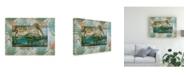 "Trademark Global Steve Hunziker Pelican Paradise V Canvas Art - 36.5"" x 48"""