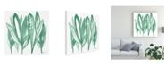 "Trademark Global June Erica Vess Boho Tropicals IV Canvas Art - 36.5"" x 48"""