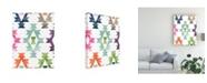 """Trademark Global June Erica Vess Aztec Brights III Canvas Art - 36.5"""" x 48"""""""
