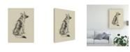 "Trademark Global Ethan Harper Puppy Dog Eyes V Canvas Art - 19.5"" x 26"""