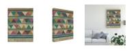 "Trademark Global Chariklia Zarris Homecoming I Canvas Art - 19.5"" x 26"""