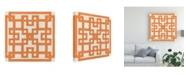 """Trademark Global June Erica Vess Maze Motif I Canvas Art - 36.5"""" x 48"""""""