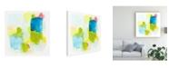 "Trademark Global June Erica Vess Narrative Structure II Canvas Art - 15.5"" x 21"""