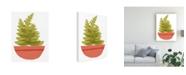 "Trademark Global Rob Delamater Mod Cactus VI Canvas Art - 36.5"" x 48"""