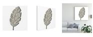 "Trademark Global June Erica Vess Cut Paper Palms V Canvas Art - 15.5"" x 21"""