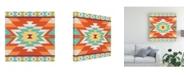 "Trademark Global June Erica Vess Mesa Motif III Canvas Art - 36.5"" x 48"""