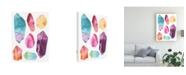 "Trademark Global June Erica Vess Prism Crystals I Canvas Art - 36.5"" x 48"""