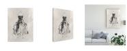 "Trademark Global Ethan Harper Black Evening Gown I Canvas Art - 19.5"" x 26"""