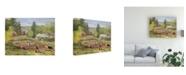 "Trademark Global Peter Snyder Starting the Garden Canvas Art - 36.5"" x 48"""