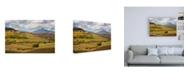 """Trademark Global Dan Ballard Mountain and Hills Canvas Art - 15.5"""" x 21"""""""