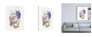 "Trademark Global Jennifer Goldberger Sweet Remarks I Canvas Art - 36.5"" x 48"""