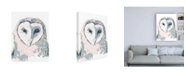 "Trademark Global June Erica Vess Funky Owl Portrait I Canvas Art - 15.5"" x 21"""