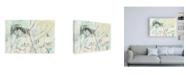 "Trademark Global Jennifer Goldberger Lacy Overlay I Canvas Art - 19.5"" x 26"""
