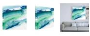 "Trademark Global Ethan Harper One Fluid Motion II Canvas Art - 15.5"" x 21"""