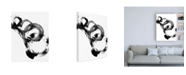 "Trademark Global Ethan Harper Dynamic Spiral I Canvas Art - 19.5"" x 26"""