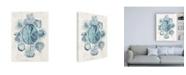 "Trademark Global June Erica Vess Coastal Melange IV Canvas Art - 19.5"" x 26"""